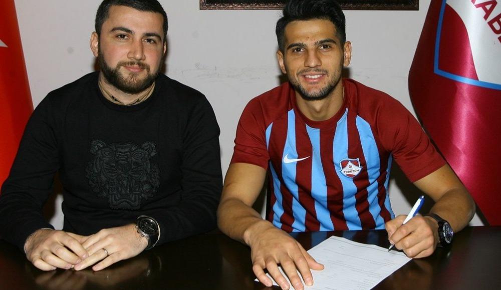 1461 Trabzon, Trabzonspor'dan Abdurrahim Dursun'u kiraladı