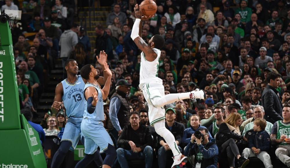 Celtics, Irving'le kazandı! 27. galibiyet...