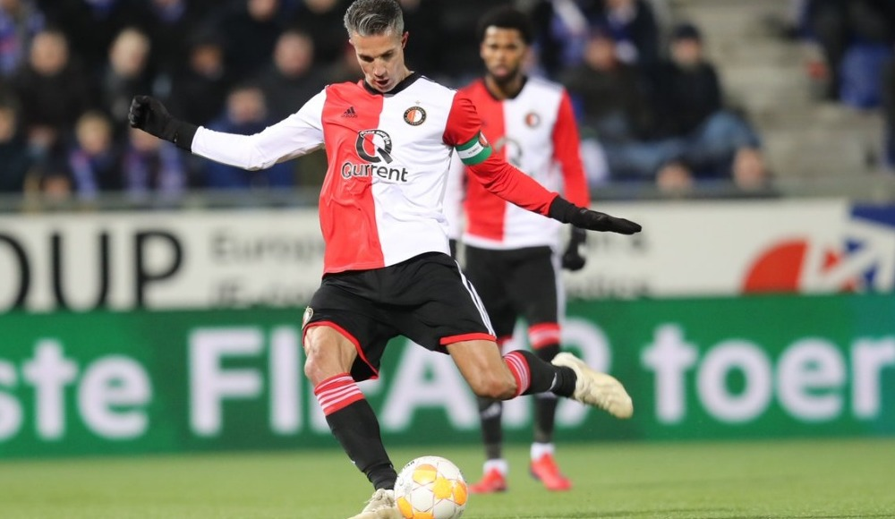 Robin Van Persie'nin golü Feyenoord'a yetmedi