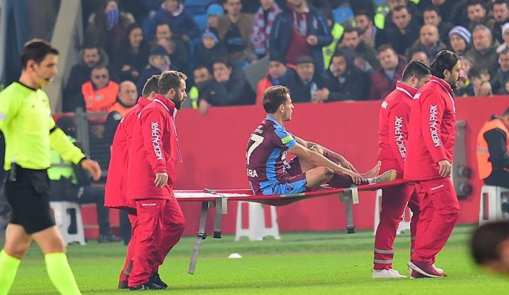 Trabzonspor'da şoke eden sakatlık! Kırık...
