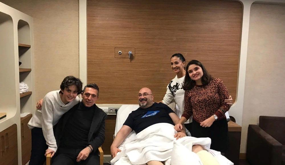 Ali Koç'tan Mustafa Bozbağ'a geçmiş olsun ziyareti