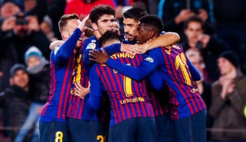 Luis Suarez tarihe geçti, Barcelona sahasında kazandı!