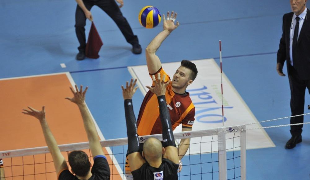 Galatasaray, İnegöl belediyespor'a set vermedi