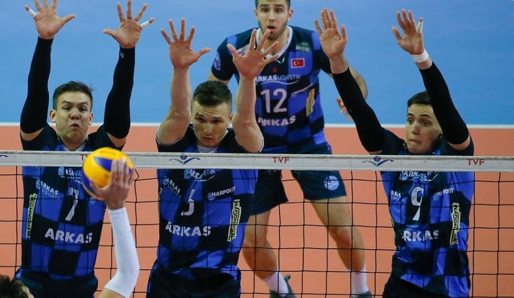 Arkas Spor, İkbal Afyon Belediye Yüntaş'ı 3-0 mağlup etti
