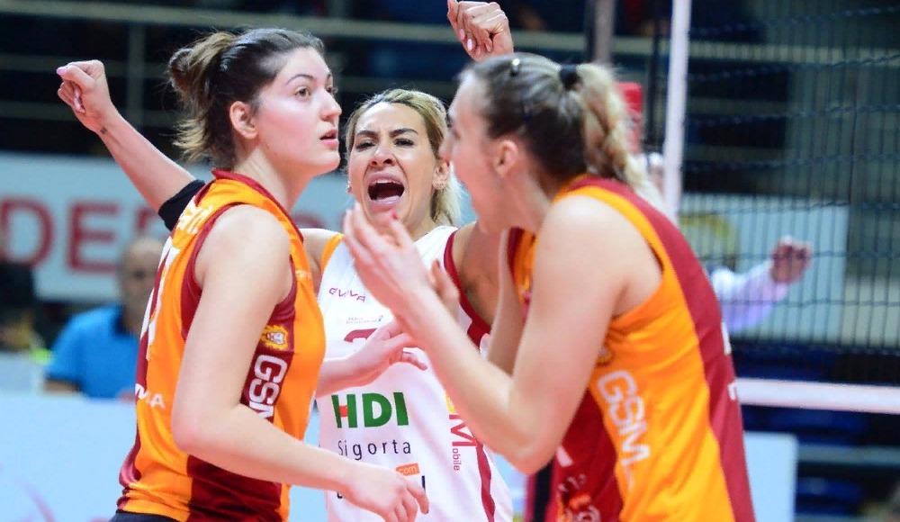 Galatasaray HDI Sigorta dörtlü finalde!