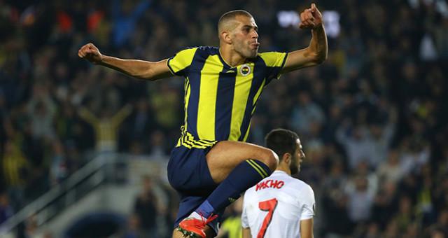 Slimani Fenerbahçe'de kaç gol attı?