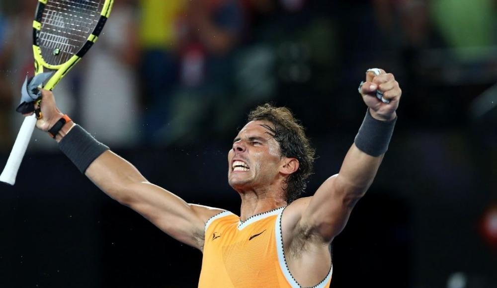 Rafael Nadal finalde!