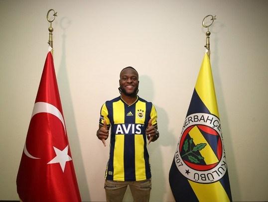 Moses Fenerbahçe'nin 5. Nijeryalı futbolcusu oldu