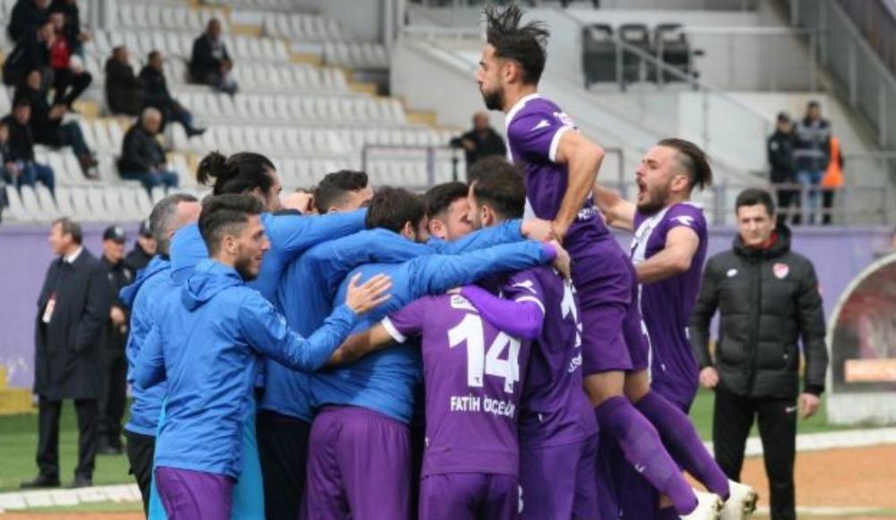 Orduspor sahasında Altındağ Belediyespor'u 2-0 yendi