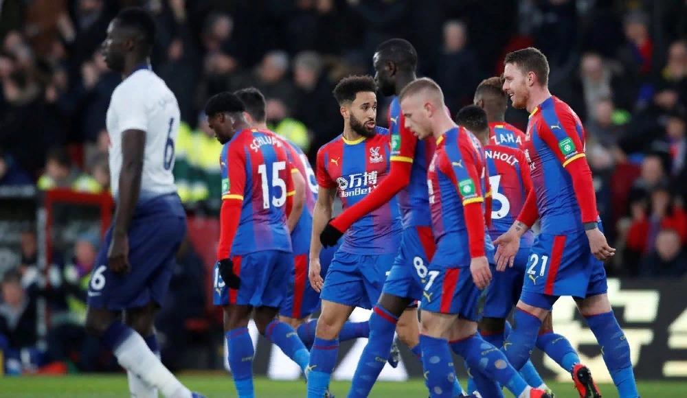 Crystal Palace, FA Cup'ta Tottenham'ı eledi