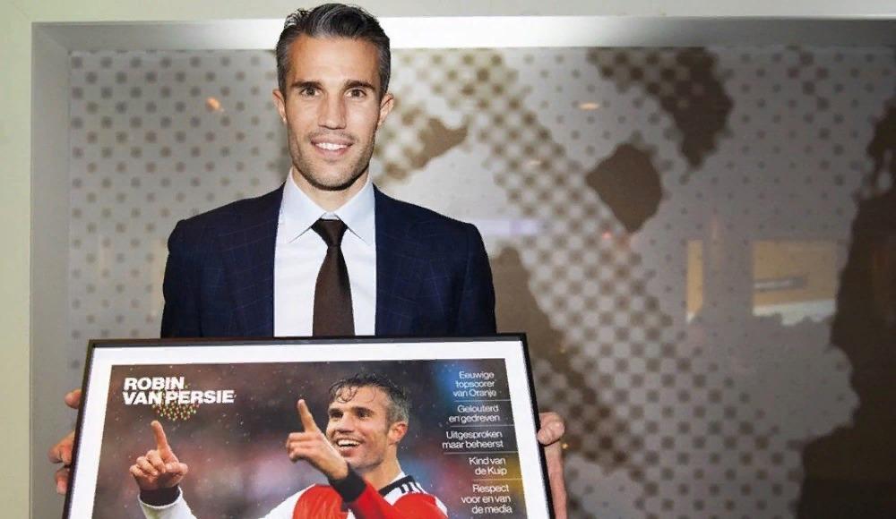"""Van Persie'ye """"2018 Yılı Spor Kişiliği"""" ödülü"""