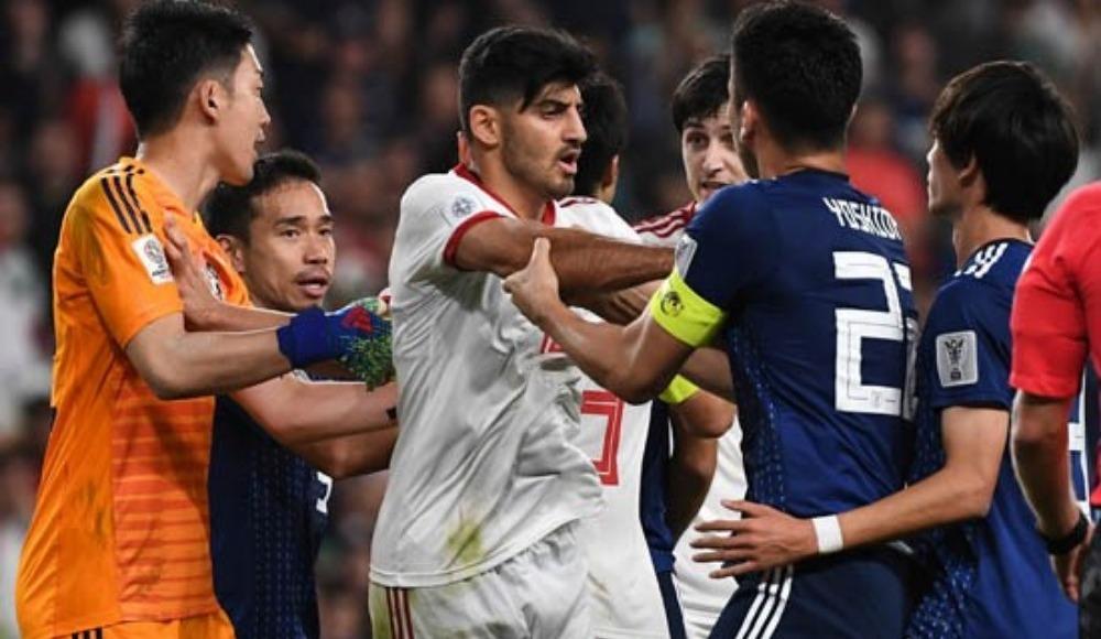 Japonya-İran maçında kavga! Nagatomo...