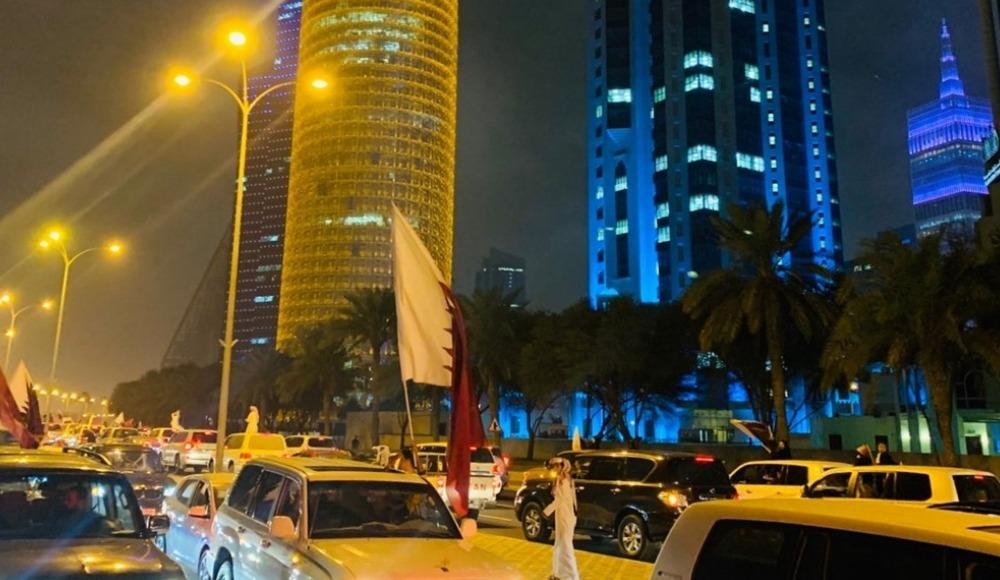 Katarlıların Asya Kupası'nda final sevinci