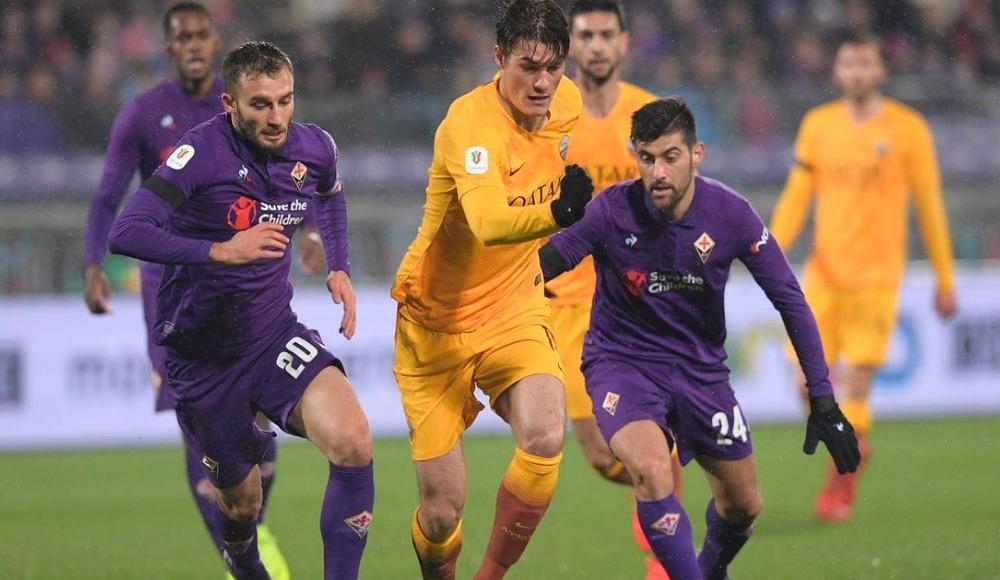 Fiorentina tarihi farkla İtalya Kupası'nda yarı finalde! 7-1