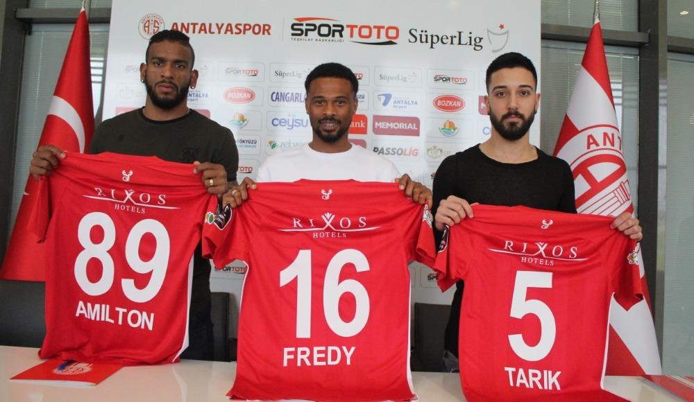 Antalyaspor 3 transferine imza attırdı