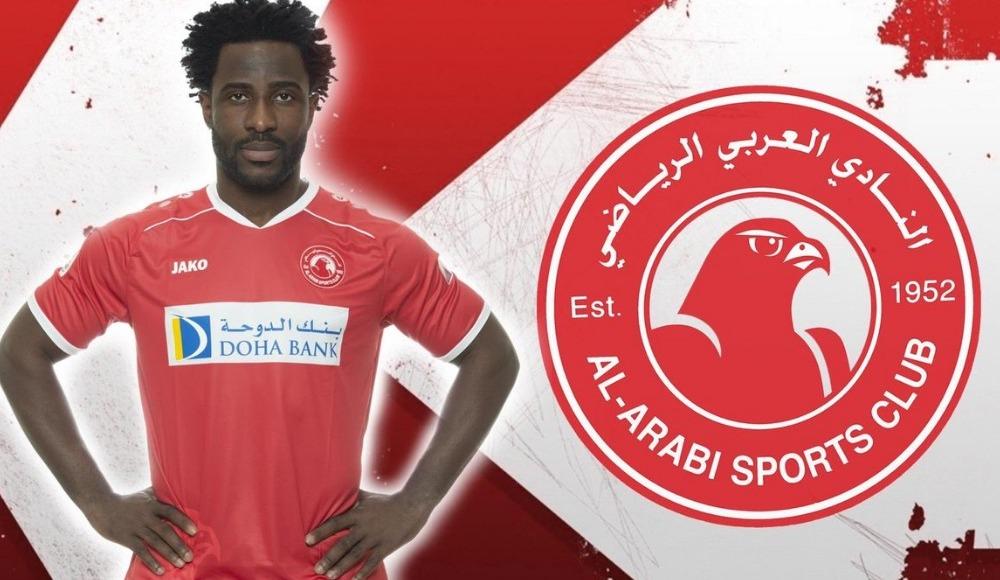 Al-Arabi, Swansea City'den Wilfried Bony'i sezon sonuna kadar kiraladığını açıkladı