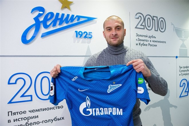 Ukraynalı oyuncu Zenit'te kriz çıkardı
