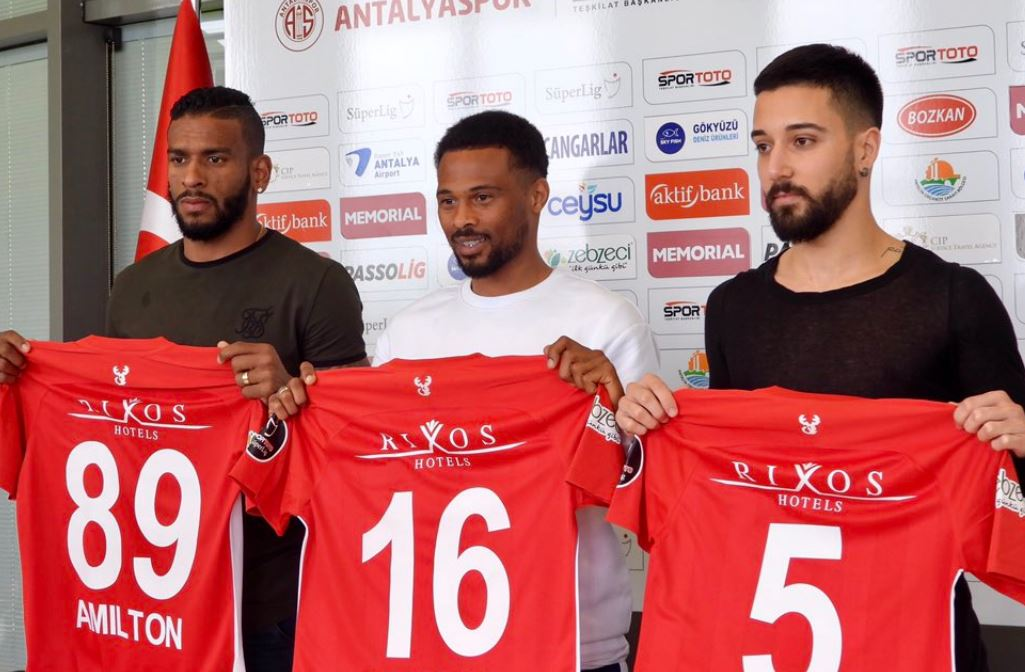 Antalyaspor'un yeni transferleri…