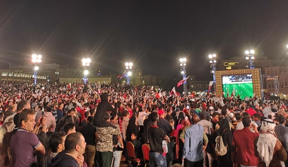 Katar'da Asya Kupası kutlamaları