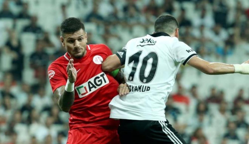 Beşiktaş, Antalya'ya konuk olacak
