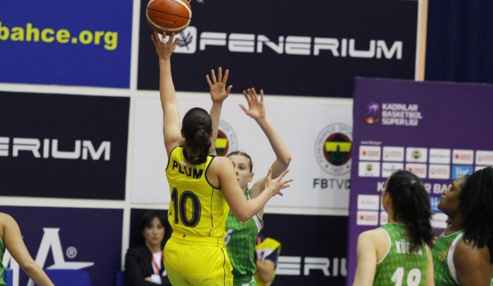 Fenerbahçe, Kırçiçeği Bodrum'u 106-38 mağlup etti