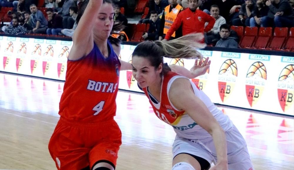BOTAŞ, deplasmanda Bellona Kayseri Basketbol'u 86-72 yendi