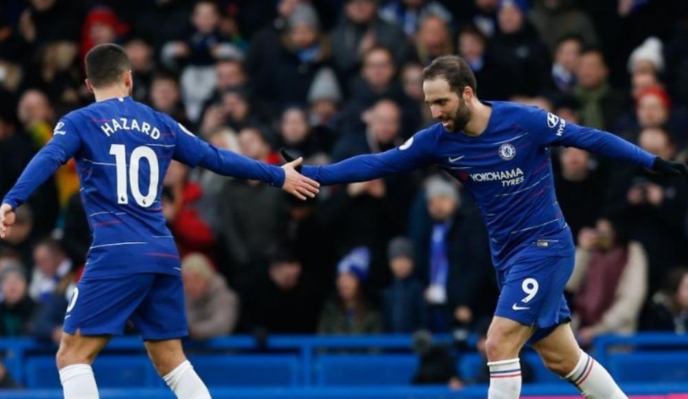 Özet - Chelsea'yi Hazard ve Higuain taşıdı: 5-0!