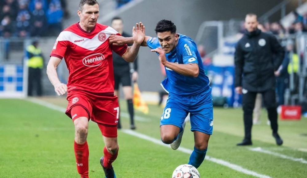 Hoffenheim ile Fortuna Düsseldorf 1-1 berabere kaldı