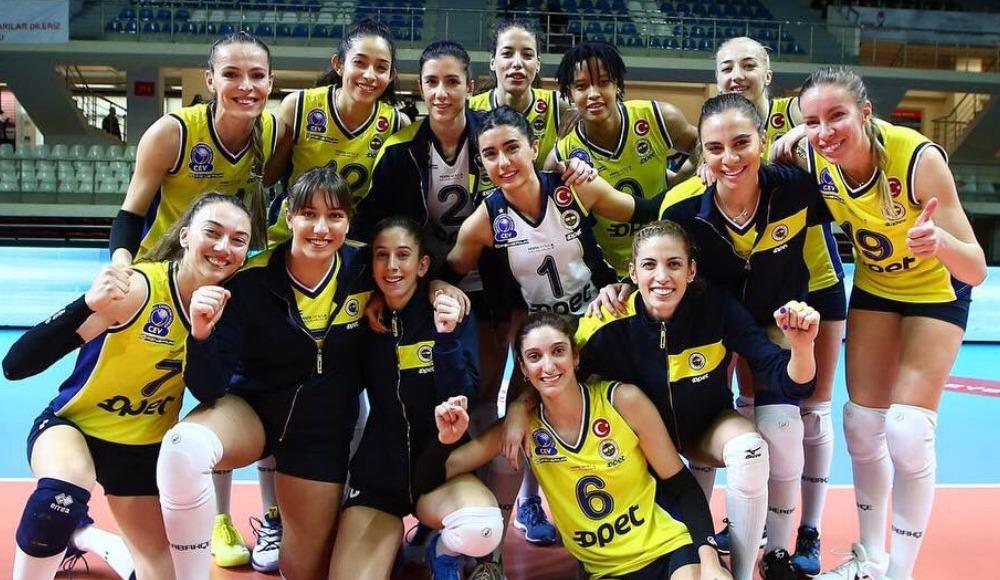 Fenerbahçe Opet, sahasında Türk Hava Yolları'nı 3-0 yendi