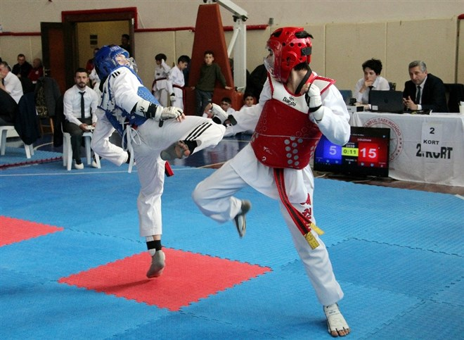 Yıldızlar Taekwondo Şampiyonası sona erdi