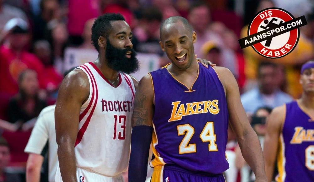 """James Harden'dan Kobe Bryant'a cevap! """"Bu böyle gitmez..."""""""