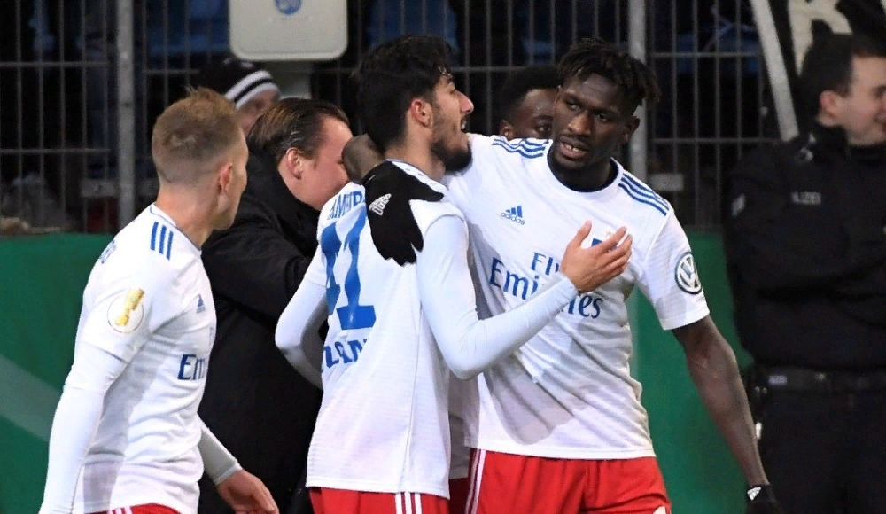 Hamburg, Berkay Özcan'ın golüyle kazandı!