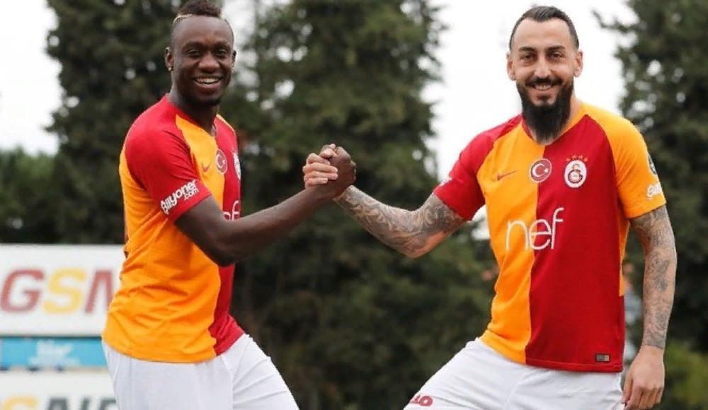 Galatasaray, yeni transferleri için imza töreni düzenledi! İşte ilk sözleri...