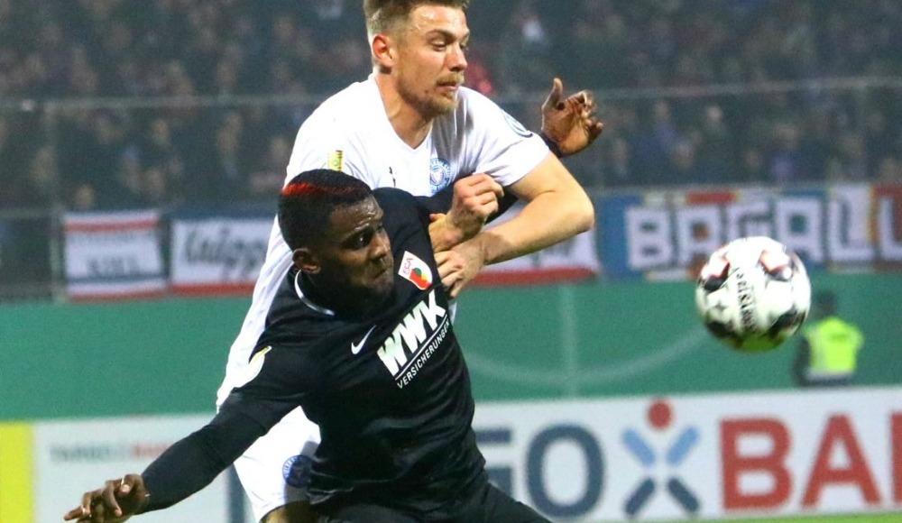 Almanya Kupası'nda Augsburg, Holstein Kiel'i tek golle geçti