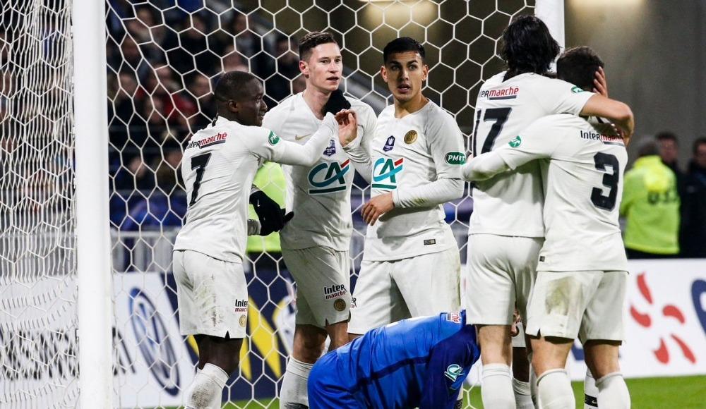 PSG, Fransa Kupası'nda çeyrek finalde