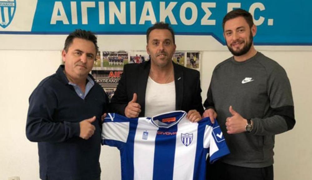 Cem Karaca, Yunan ekibi Aiginiakos ile anlaştı