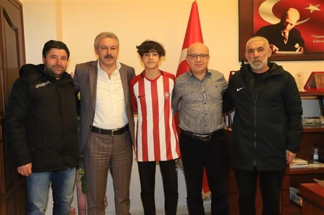 Nevşehir Belediyespor altyapı futbolcusu Karayazı U14 Milli takım kampına davet edildi