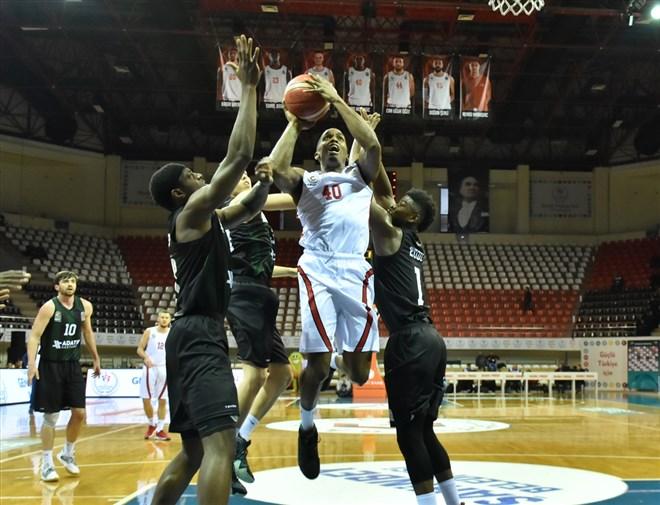 Gaziantep Basketbol, Adatıp Sakarya Büyükşehir Belediye Basketbol'u farklı geçti