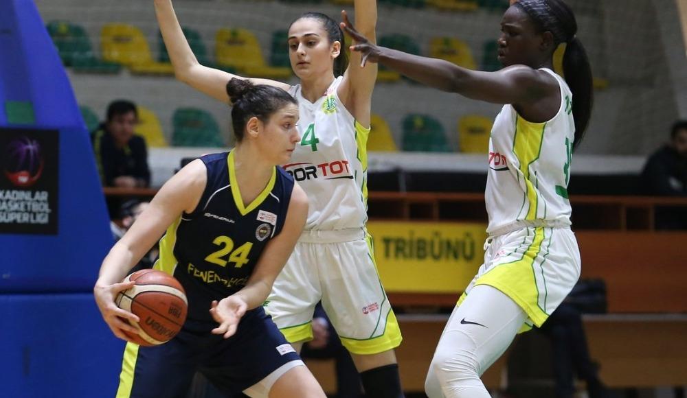 Fenerbahçe, deplasmanda İstanbul Üniversitesi'ni 89-58 mağlup etti