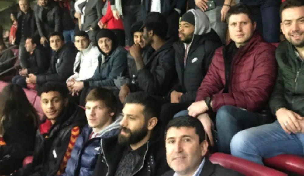Galatasaray Doğa Sigorta, Trabzonspor maçını seyretti
