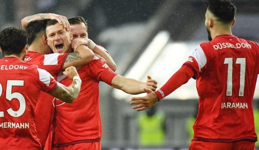 Kenanlı Fortuna Düsseldorf, Ozanlı Stuttgart'a 3 attı!
