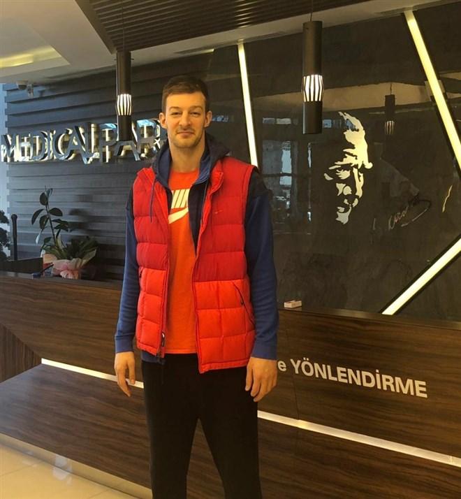 Stevan Jelovac, sağlık kontrolünden geçti