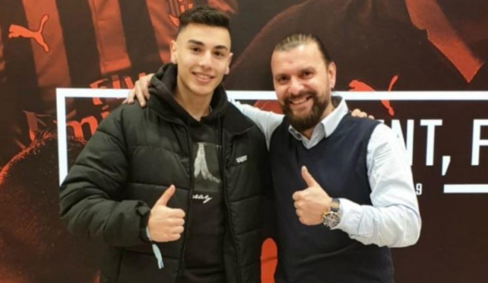 Genç Türk futbolcu Milan'a transfer oluyor
