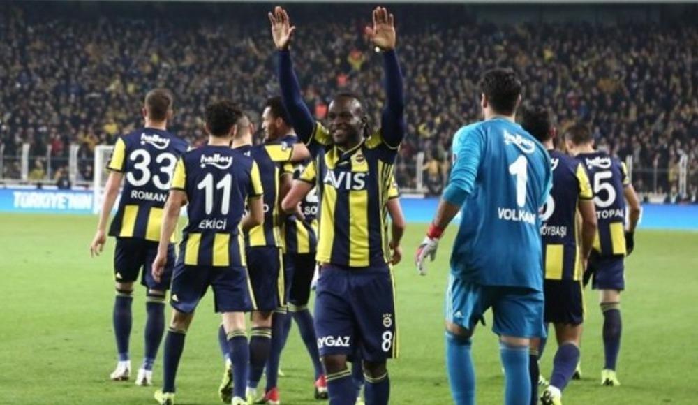 Fenerbahçe'nin Zenit maçı 11'i