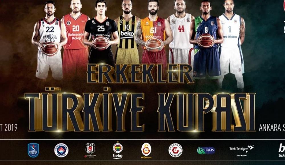 2019 Erkekler Türkiye Kupası heyecanı başlıyor