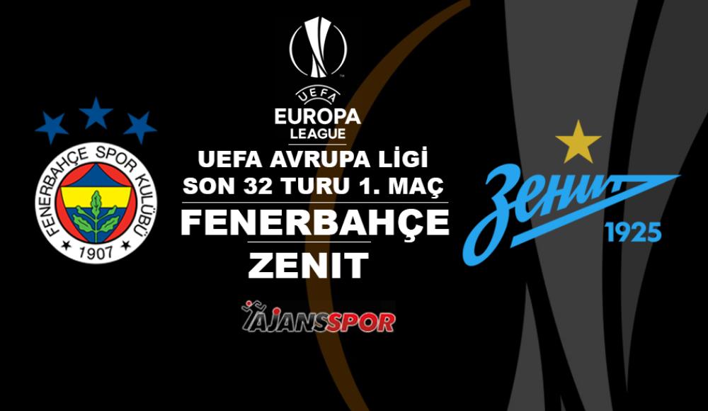 Fenerbahçe - Zenit (Canlı Skor)