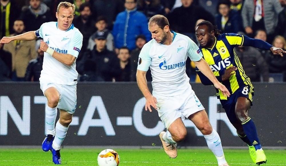 Zenit 2 ay sonra ilk resmi maçına çıktı
