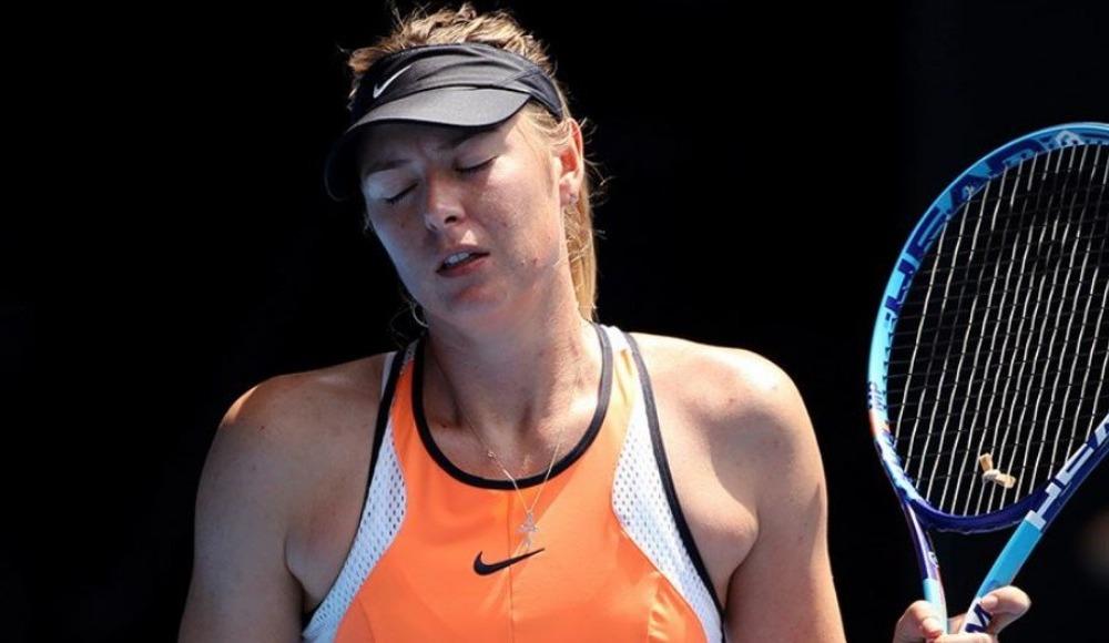 Maria Sharapova'dan kötü haber!