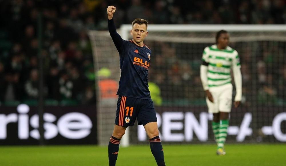 Valencia, Celtic deplasmanında güldü!