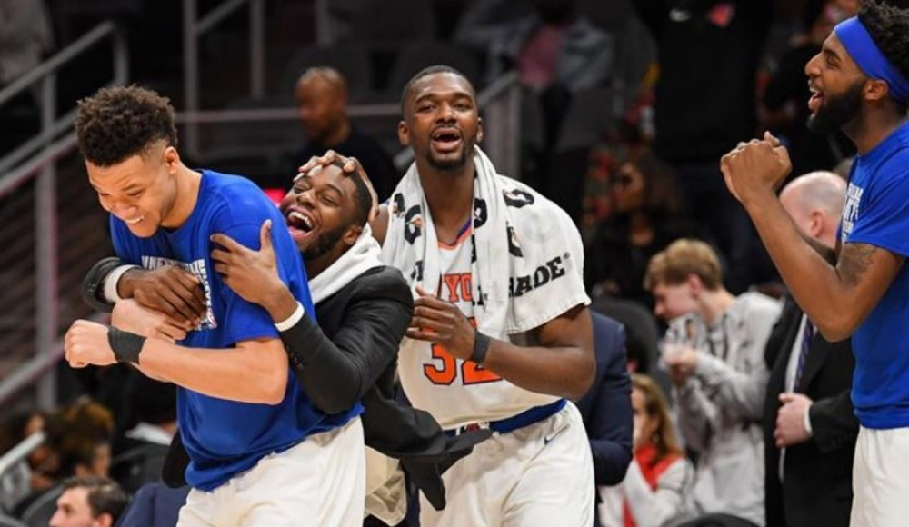 New York Knicks nefes aldı!